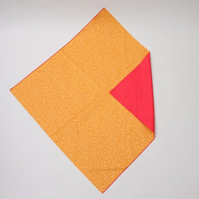 Photo2: FUROSHIKI(Two way・scarlet/yellow)